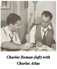 Charles Roman with Charles Atlas